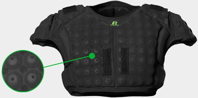 CarbonTek™ Compression vest made up of high performance automotive grade foam